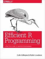 Efficient R Programming