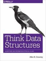 Think Data Sructures