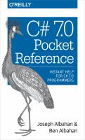 C# 7.0 Pocket Reference