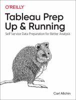 Tableau Prep up & Running