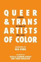 Queer and Trans Artists of Color