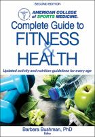 American College of Sports Medicine's Complete Guide to Fitness & Health