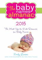 The Baby Names Almanac, 2015