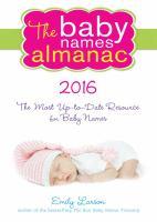 The Baby Names Almanac 2016