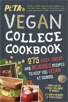 PETA's Vegan College Cookbook