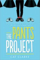 Cover of  The Pants Project