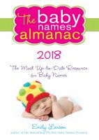 The Baby Names Almanac, 2018