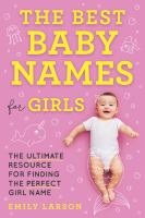 The Best Baby Names for Girls