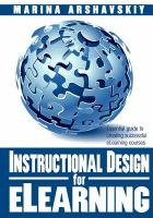 Instructional Design for ELearning