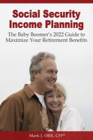 Social Security Income Planning