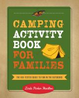 Camping Activity Book for Families