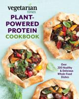 Plant-powered Protein Cookbook