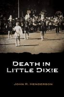 Death in Little Dixie