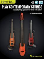 How to... Play contemporary strings