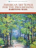 American Art Songs for the Progressing Baritone/bass