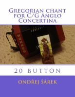 Gregorian Chant for C/G Anglo Concertina