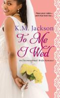 To Me I Wed
