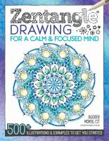 Zentangle Drawing for A Calm & Focused Mind