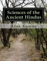 Sciences of the Ancient Hindus
