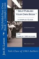 """""""Self-publish your Own Book"""""""