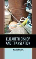 Elizabeth Bishop and Translation