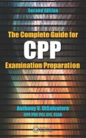 The Complete Guide for CPP Examination Preparation