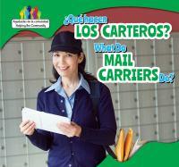Qué Hacen Los Carteros?