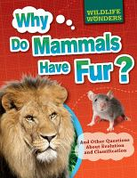 Why Do Mammals Have Fur?