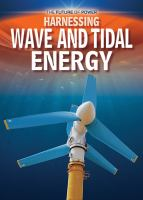 Harnessing Wave and Tidal Energy