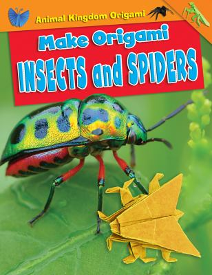 Make Origami Insects and Spiders(book-cover)