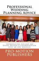 Professional Wedding Planning Advice