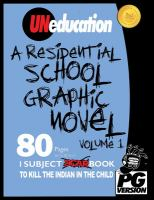 UNeducation. Volume 1, A residential school graphic novel : PG version