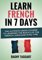 Learn French in 7 Days!