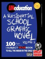 UNeducation. Volume 1, A residential school graphic novel PG version