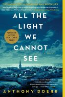 BOOK CLUB BAG : All the Light We Cannot See