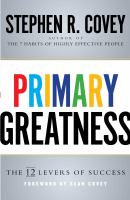 Primary Greatness