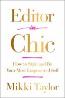 Editor in Chic