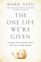 The One Life We're Given