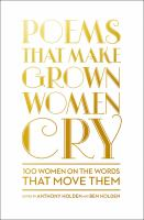 Image: Poems That Make Grown Women Cry