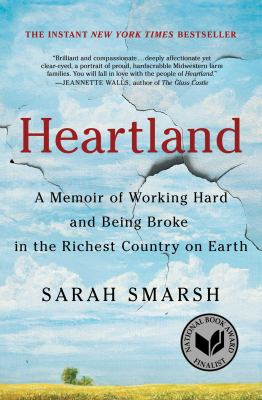 Sarah Smarsh Book club in a bag. Heartland a memoir of working hard and being broke in the richest country on Earth.