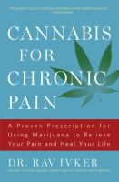 Cannabis for Chronic Pain