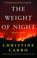 The weight of night : a novel of suspense