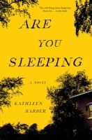 Are You Sleeping