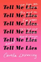 Tell me lies : a novel