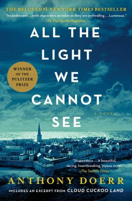 Doerr Book club in a bag. All the light we cannot see a novel.