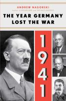 The Year That Germany Lost the War