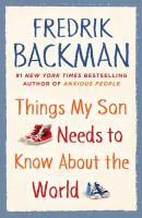 Things My Son Needs to Know About the World
