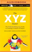 The XYZ Factor