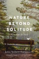 Nature Beyond Solitude