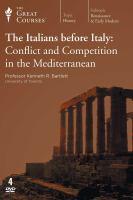 The Italians Before Italy